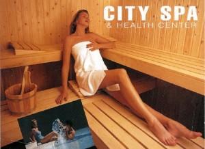 City spa and health center, LA.