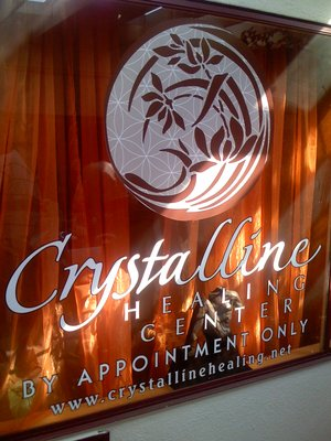 Crystalline healing center