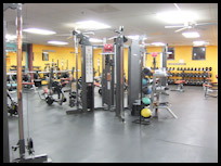 Benicia health and fitness club, CA
