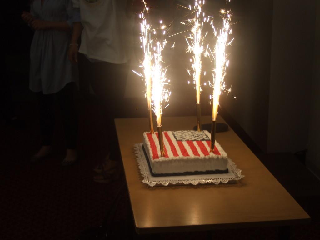 фейерверк и свечи для торта фото